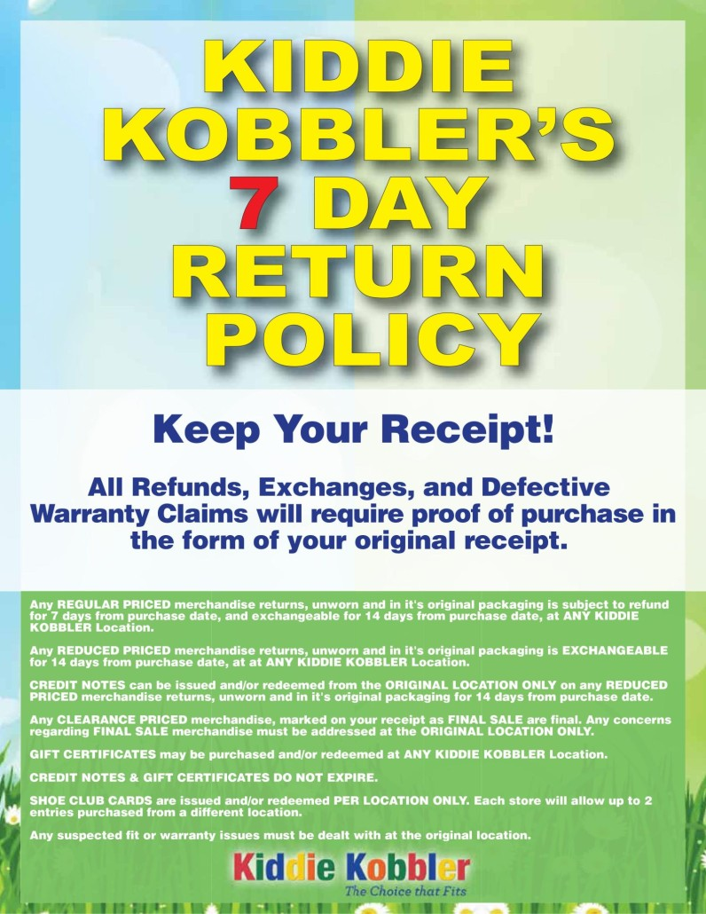 Our Return Policy